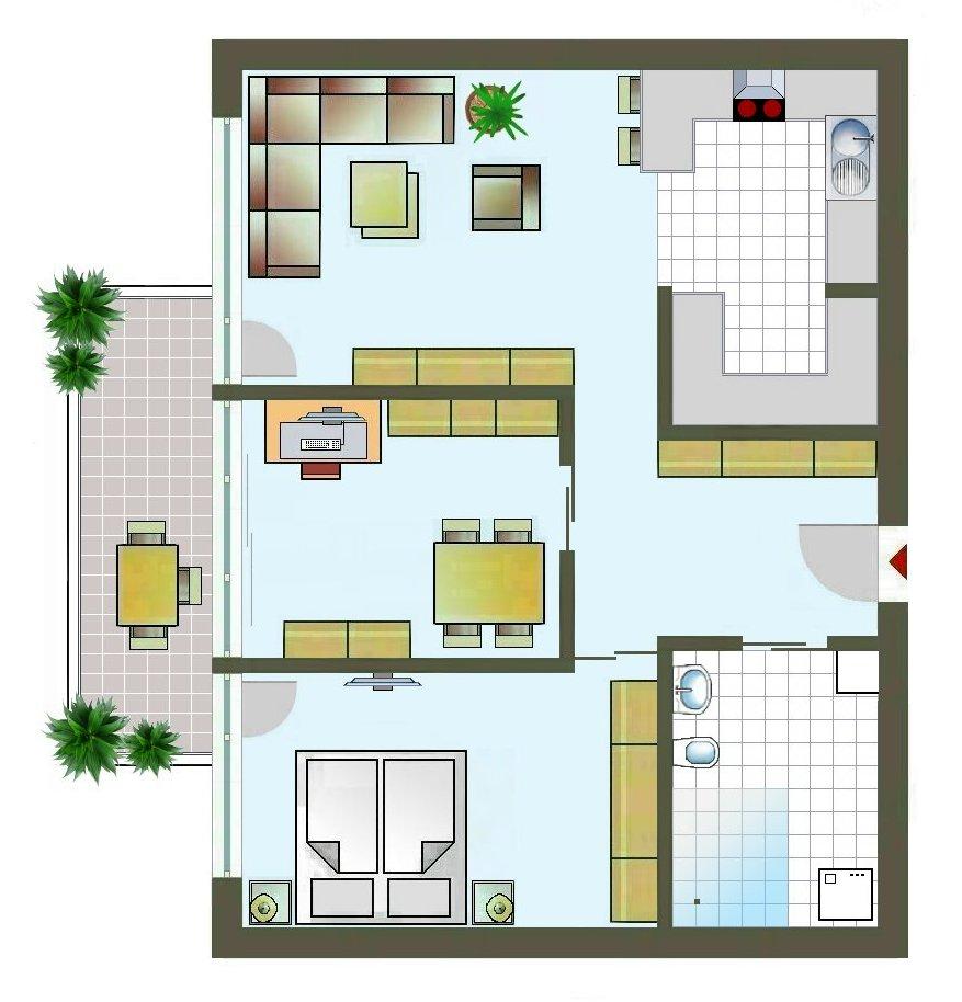 WPG, 2 ZKB Wohnung WPG Nr. 40 Immobilien Jungermann und Hausner Weilheim iOB