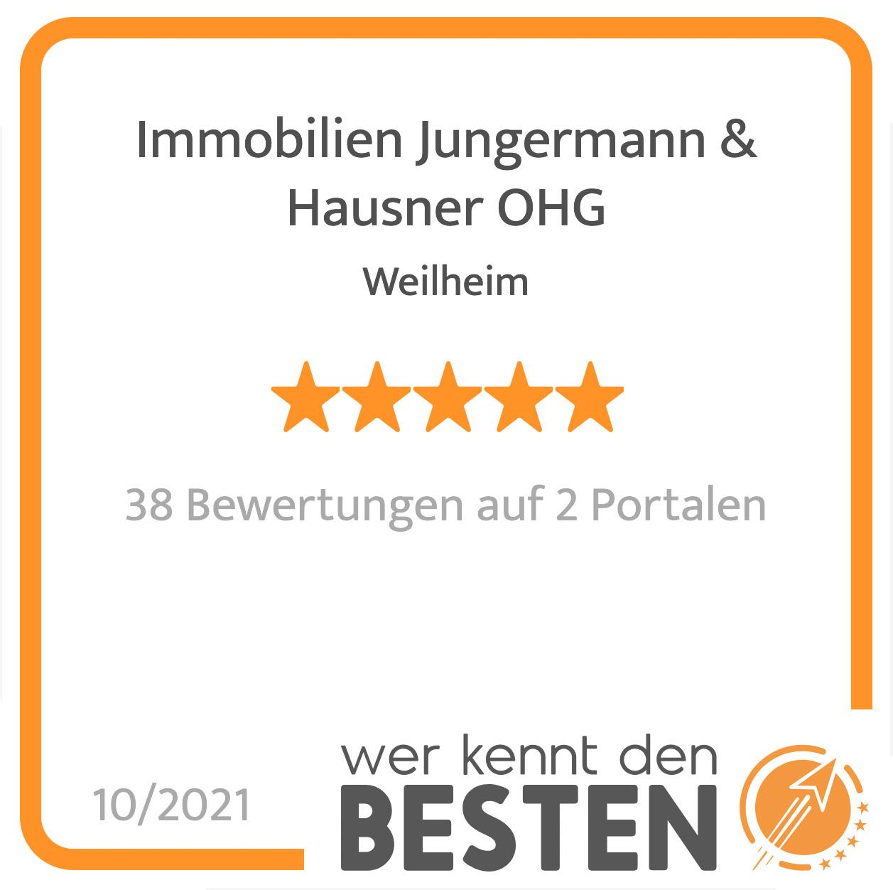 werkenntdenbesten2 Bewertungen Immobilien Jungermann und Hausner Weilheim iOB